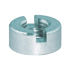 Гайки DIN 546 круглые с прямым шлицем оцинкованные от производителя