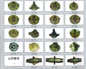 Под каждую гайку изготавливается отдельная литьевая форма