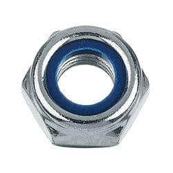 Гайка с нейлоновым кольцом DIN 985 нержавеющая
